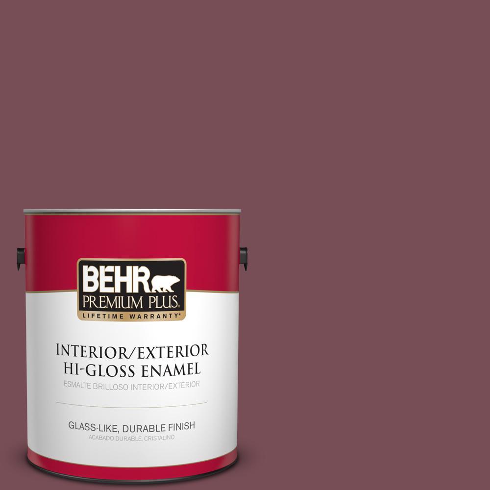 1 gal. #MQ1-1 Rule Breaker Hi-Gloss Enamel Interior/Exterior Paint