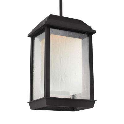 McHenry Textured Black Outdoor LED Wall Fixture