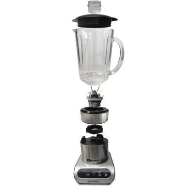 Kitchen Magic Collection 59 oz. 3-Speed Silver Professional Blender