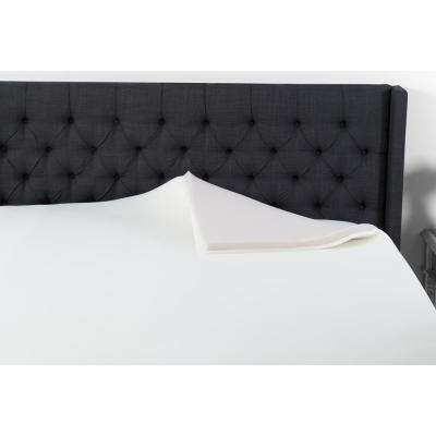2 in. King Memory Foam Insect Repelling Mattress Topper