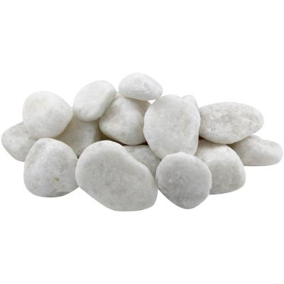 0.4 cu. ft., 1 in. to 2 in. Snow White Pebble (54-Pack Pallet)