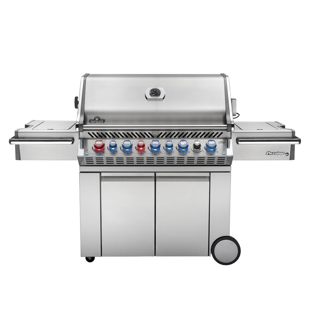 Infrared secondary burner grills outdoor cooking the home depot prestige pro 665 propane gas grill dailygadgetfo Image collections