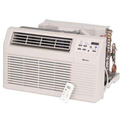 11,700 BTU 230/208-Volt Through-the-Wall Air Conditioner and Heat Pump with 3.5 kW Electric Heat and Remote