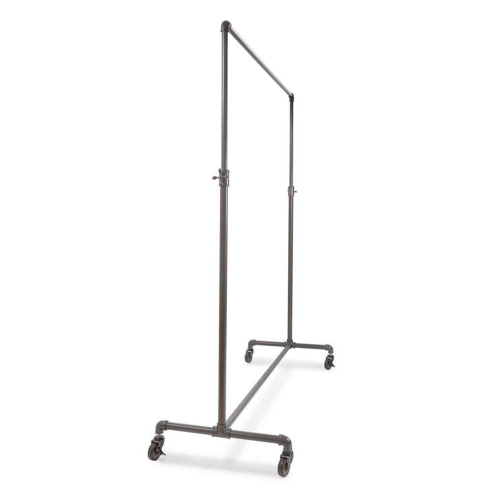 Pipeline 60 in. W x 72 in. H Adjustable Height Gray