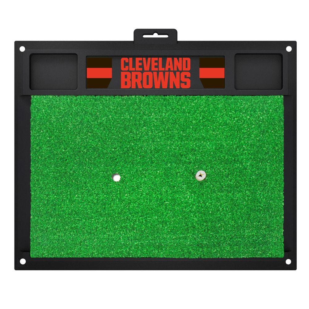 NFL Cleveland Browns 17 in. x 20 in. Golf Hitting Mat