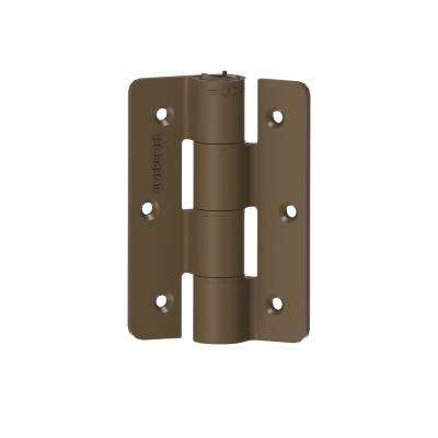 2.3 in. Standard Butterfly Light Bronze Hinge