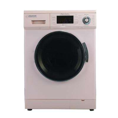 1.6 cu. ft. Pink High Efficiency Vented Electric All-in-One Washer Dryer Combo