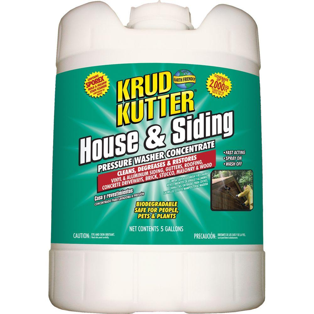 5 gal. House and Siding Pressure Washer Concentrate