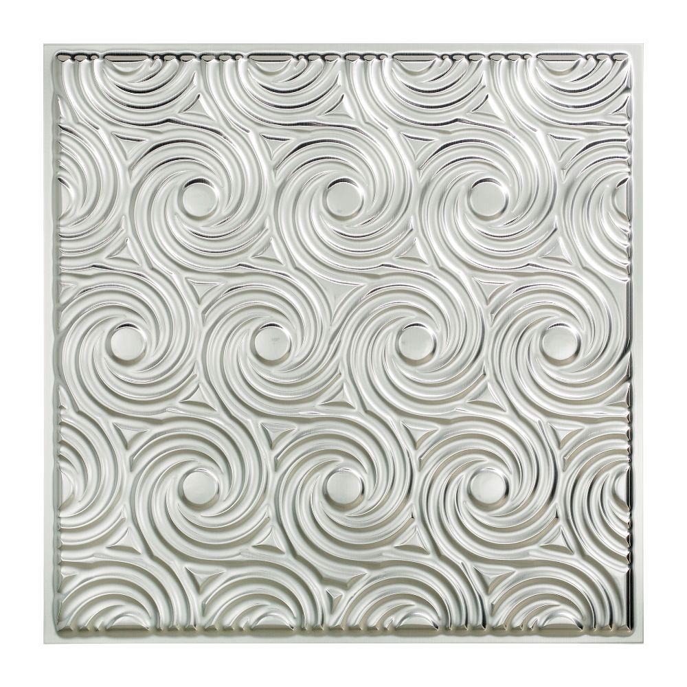 Magnificent 12X12 Cork Floor Tiles Tiny 16X16 Ceramic Tile Rectangular 1X1 Floor Tile 2 X2 Ceiling Tiles Old 24X24 Marble Floor Tiles Blue3D Tile Backsplash Brushed Aluminum   Drop Ceiling Tiles   Ceiling Tiles   The Home Depot