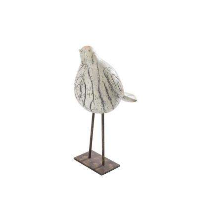 Whimsical Bird Garden Statue