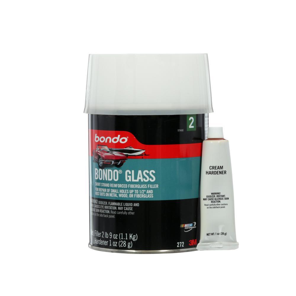 3m Bondo 41 Oz Short Strand Fiberglass Filler 272 The Home Depot
