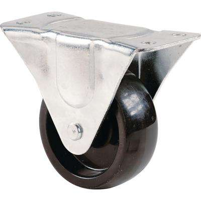 2 in. Polypropylene Rigid Caster with 125 lb. Load Rating