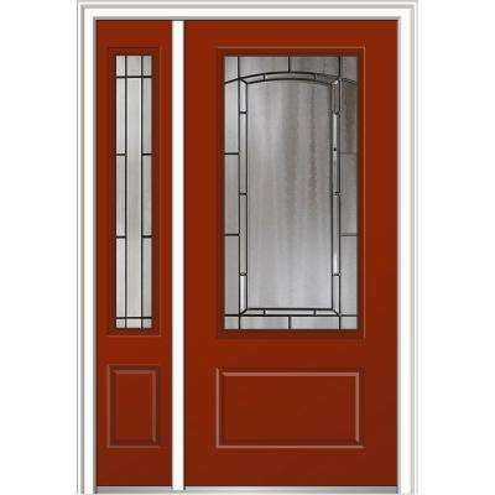 Red - 48 x 80 - Composite - Front Doors - Exterior Doors - The Home ...
