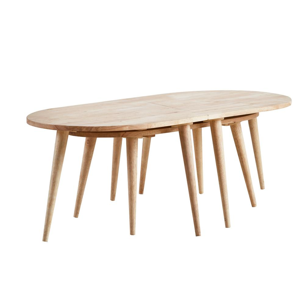 Acme Furniture Garnet II Natural Coffee Table 82757 The