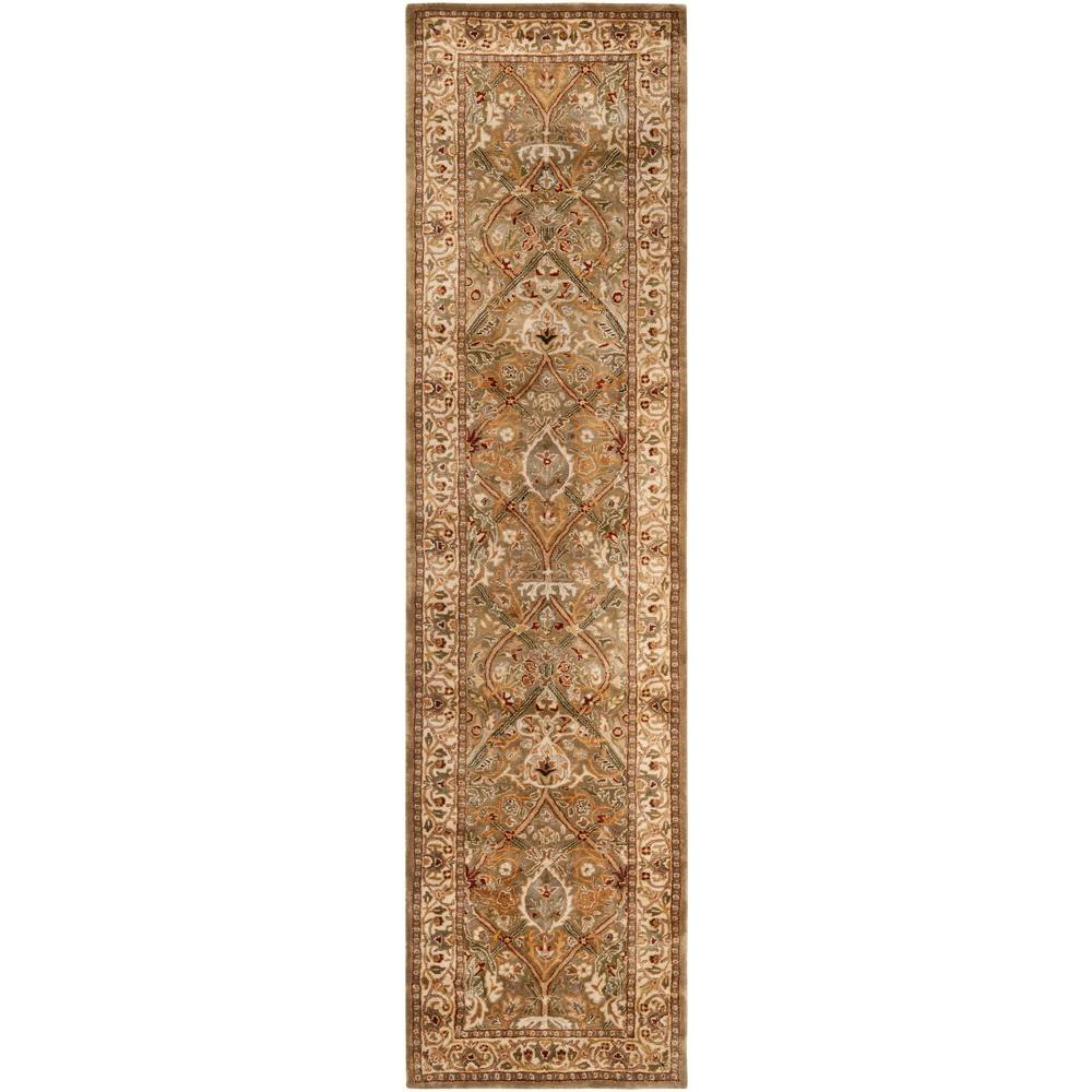 Safavieh Persian Legend Light Green/Beige 2 ft. 6 in. x 12 ft. Runner