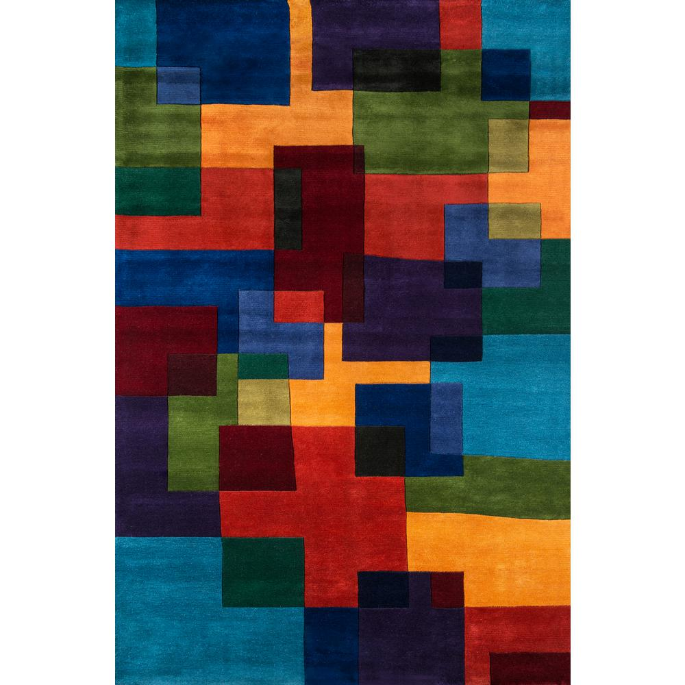 Momeni Contempo Multicolor 9 Ft 6 In X 13 Indoor Area Rug Newwanw 49mti96d6 The Home Depot