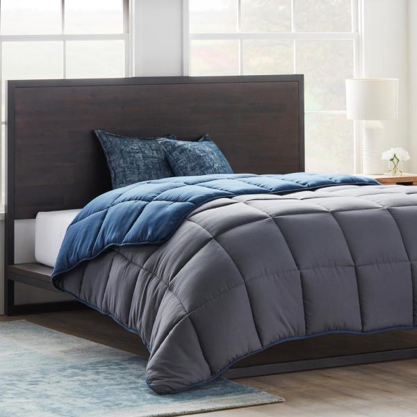 7 Colors Home Collection Ultra Soft Down Alternative Reversible Comforter Set