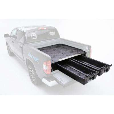 6 ft. 9 in. Bed Length Pick Up Truck Storage System for Ford Super Duty Aluminum