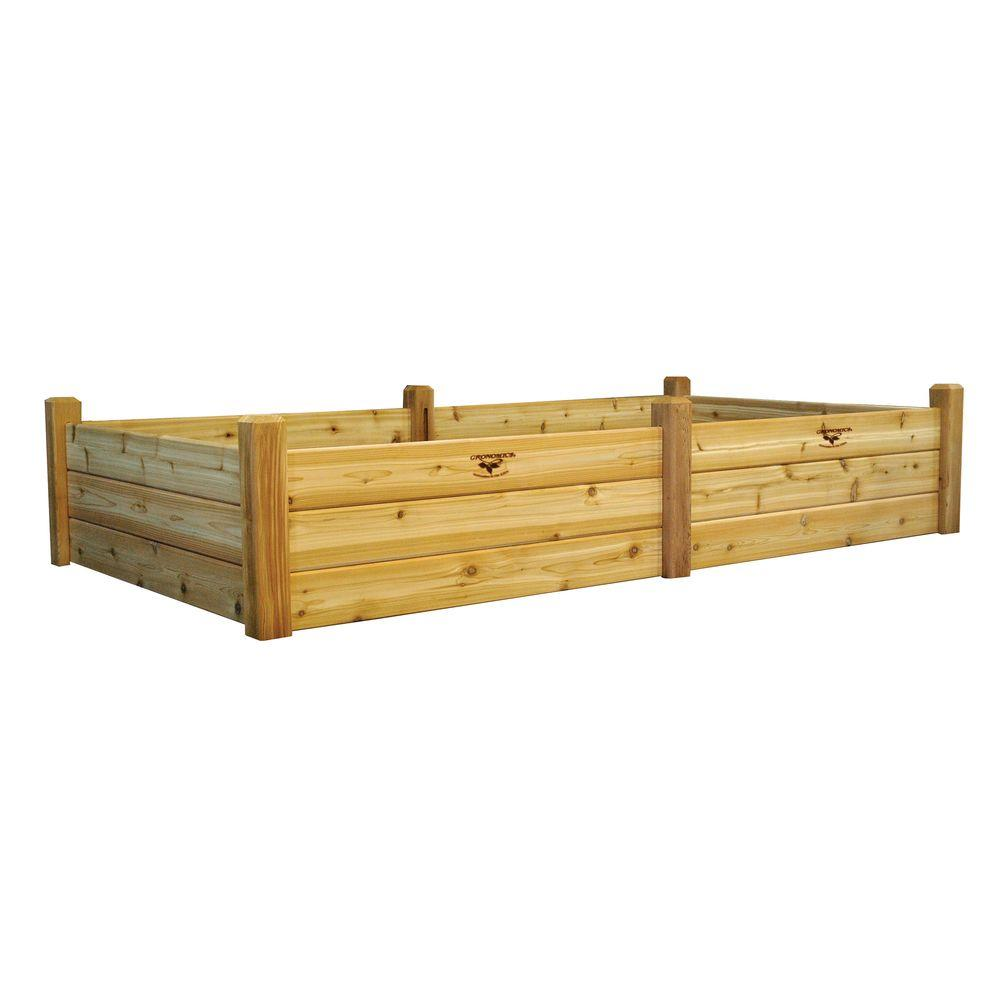 Gronomics 48 in. x 95 in. x 19 in. Raised Garden Bed