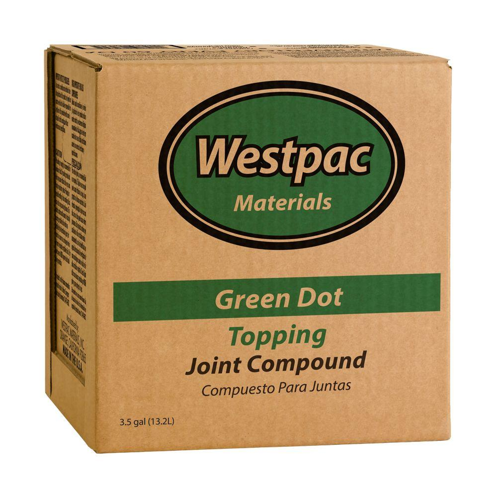 Westpac Materials 3.5 Gal. Green Dot Topping Pre-Mixed Joint ...