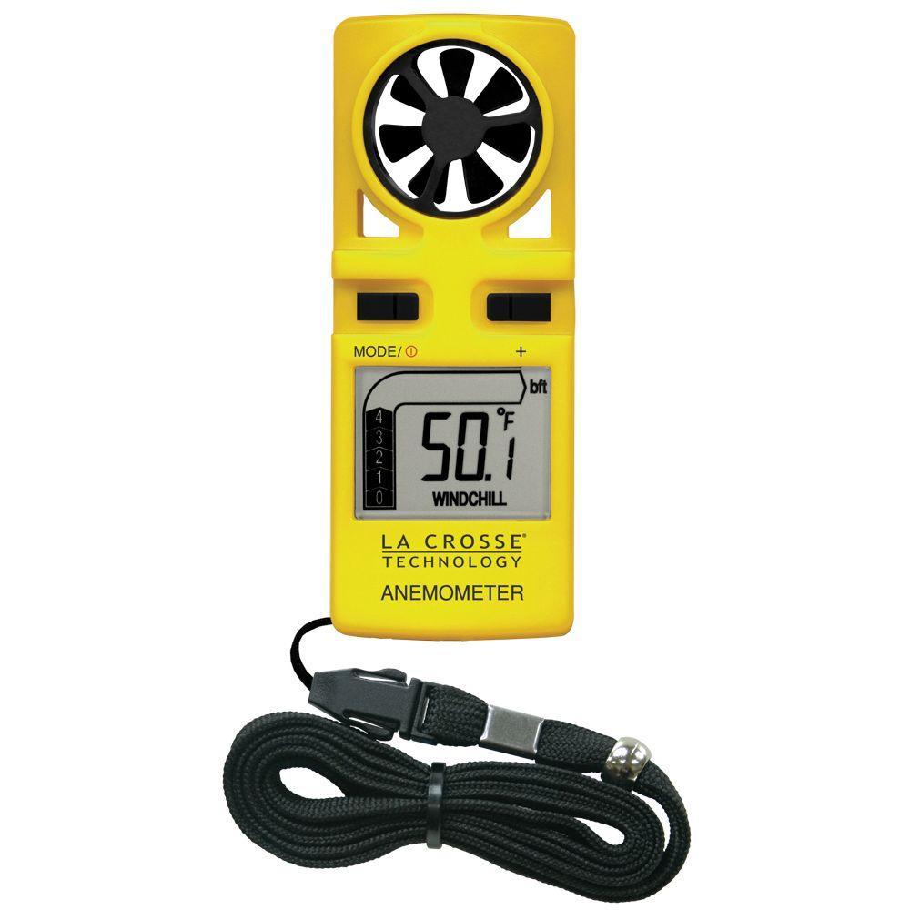 La Crosse Technology Handheld Anemometer