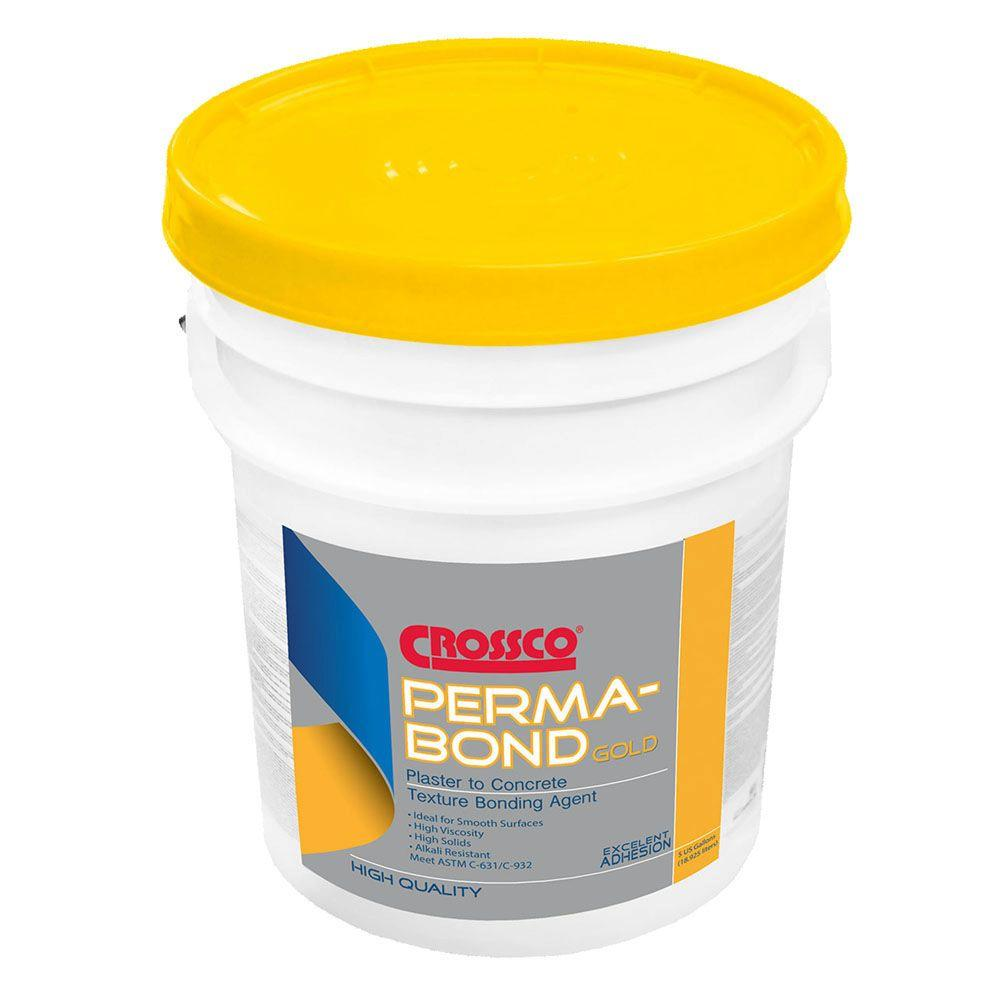 5 Gal. Bonding Agent Perma-Bond Gold Texture