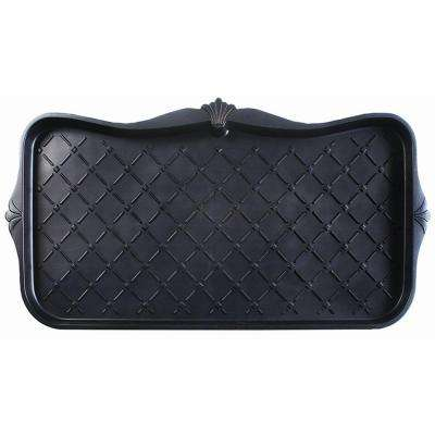 Majestic 15 in. x 30 in. Black Boot Tray