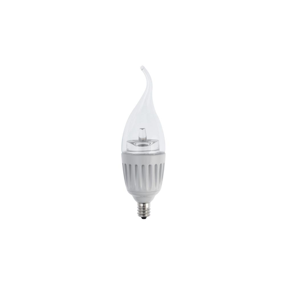 25W Equivalent Soft White B12 Dimmable LED Light Bulb