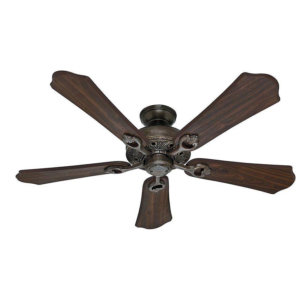 Hunter Kingsbury 52 in. Indoor Roman Bronze Ceiling Fan