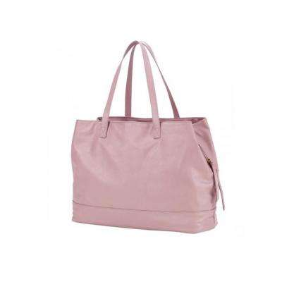 Cambridge Travel Bag Blush Vegan Leather Tote Bag