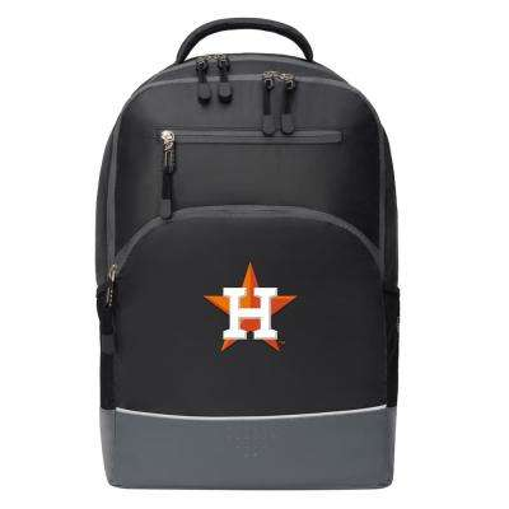 Astros 19 in. Black Alliance Backpack