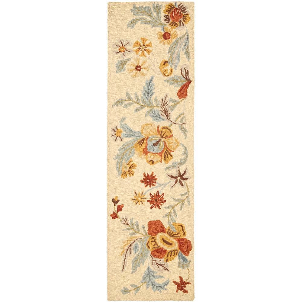 Blossom Beige/Multi 2 ft. x 8 ft. Runner