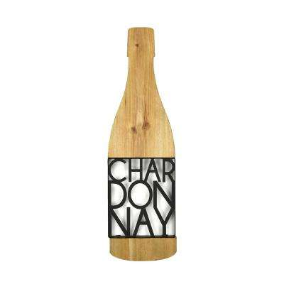 Tinley Chardonnay Wooden Sign