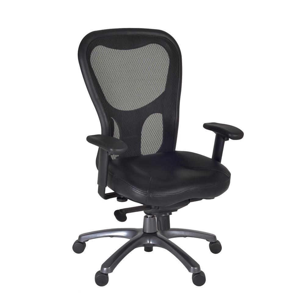 Citi Black Swivel Chair