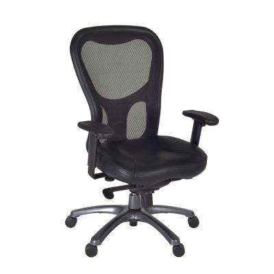 Citi Black Swivel Chair
