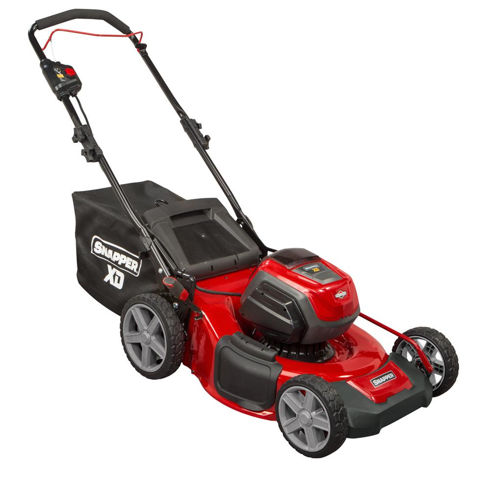 21 in. 82-Volt Max Lithium Ion Cordless Battery Walk Behind Push