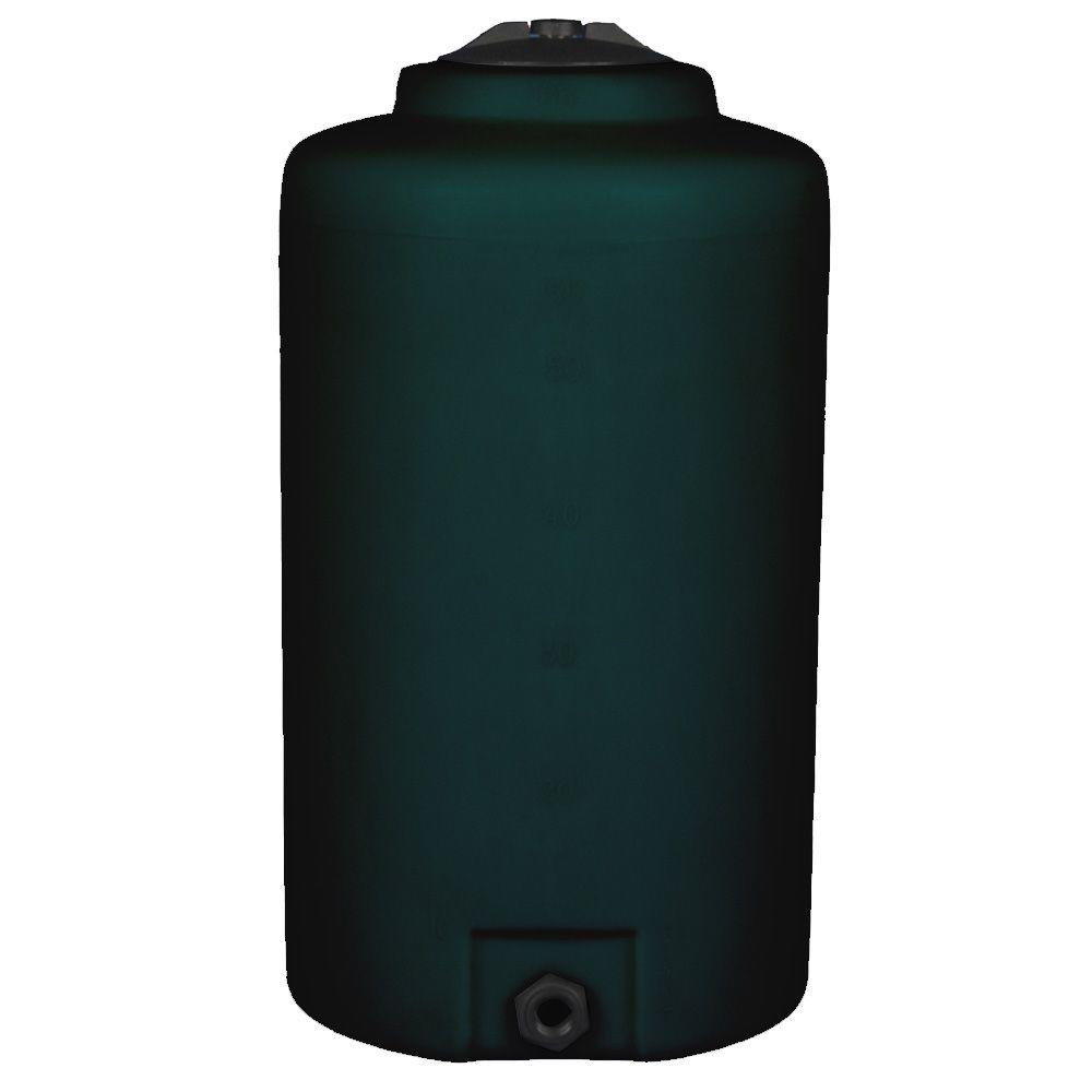 165 Gal. Vertical Water Tank in Dark Green