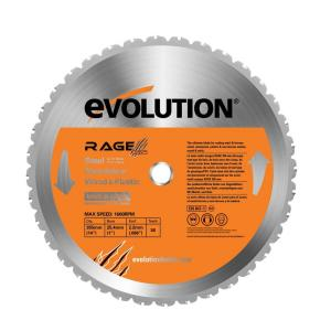 Evolution Power Tools RAGE 14 inch Multipurpose Replacement Blade by Evolution Power Tools