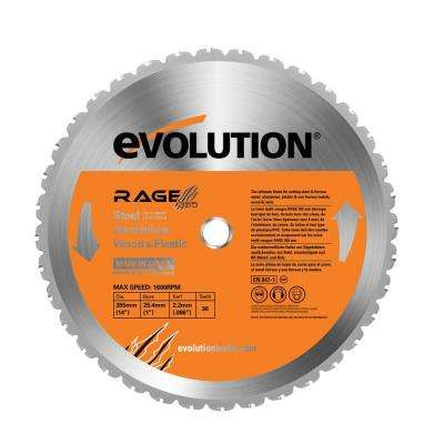 RAGE 14 in. Multipurpose Replacement Blade