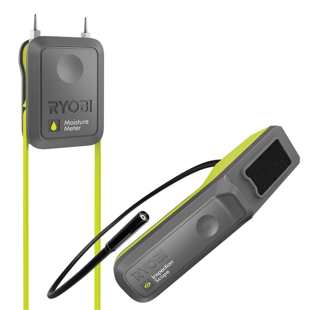 Ryobi Phone Works Moisture Meter And Inspection Camera