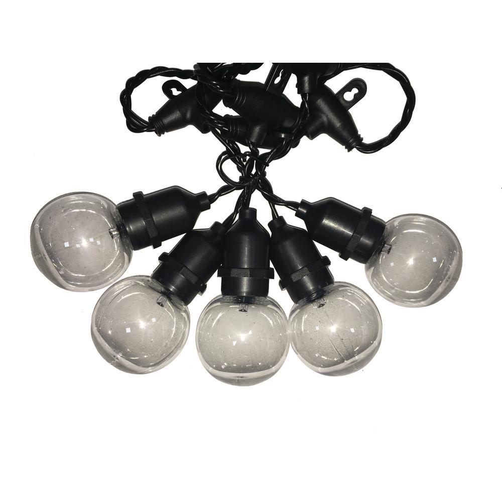 34 ft. 30-Light G50 LED Clear String Light