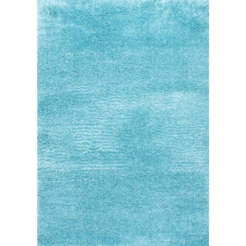 NuLOOM Gynel Cloudy Shag Baby Blue 8 Ft. X 10 Ft. Area Rug