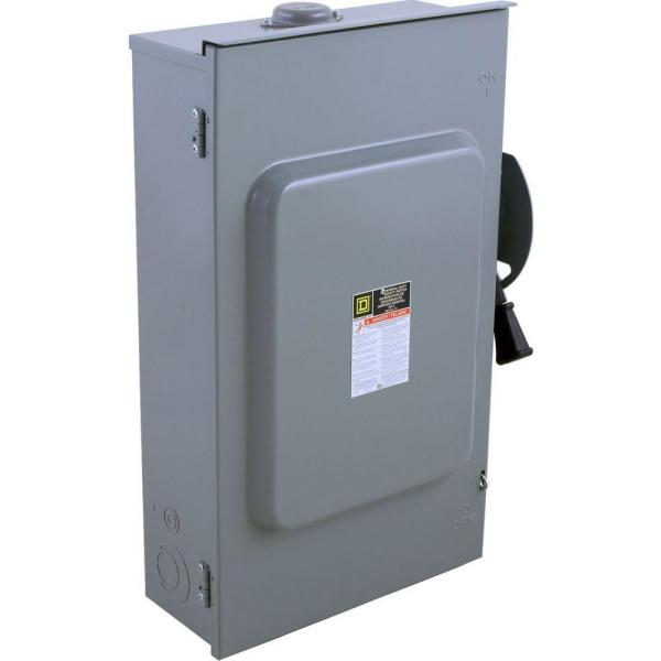 200 Amp 240-Volt 3-Pole 3-Phase Fused Outdoor General Duty Safety Switch