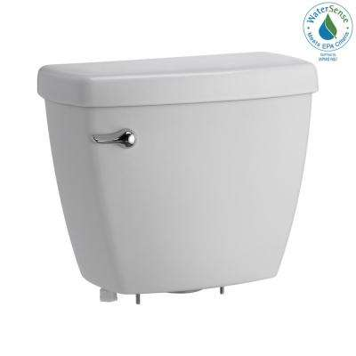 Foundations 1.28 GPF Single Flush Toilet Tank Only in White