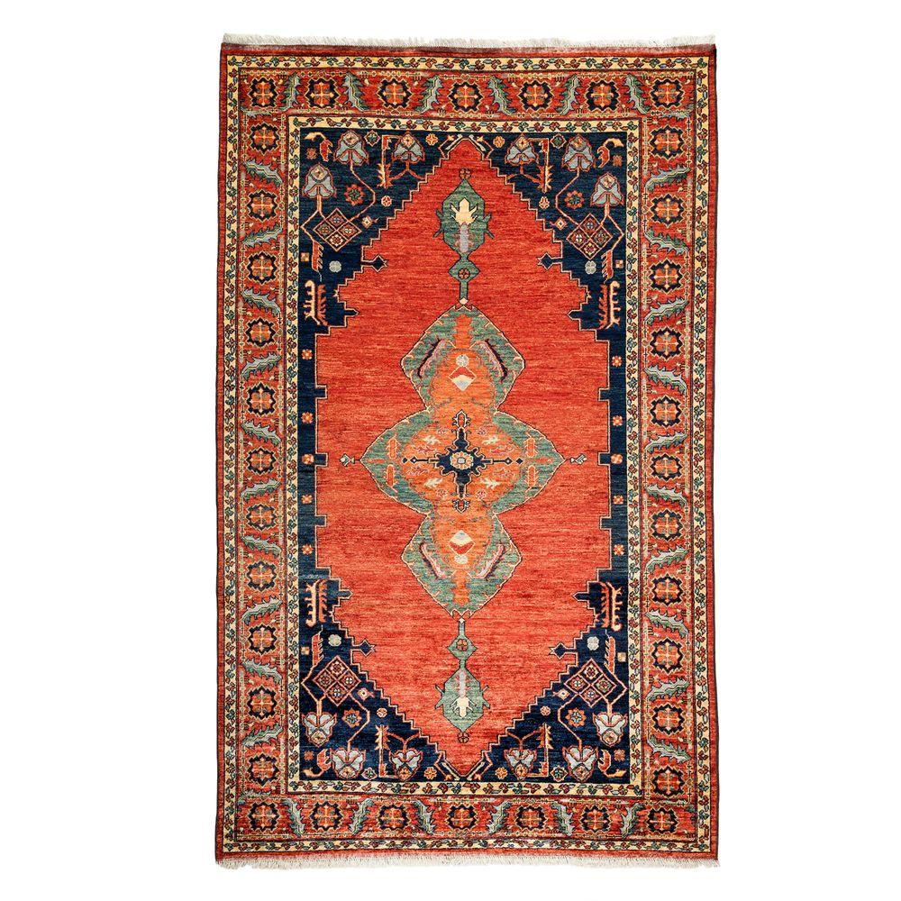 darya rugs ziegler red 6 ft x 10 ft indoor area rug. Black Bedroom Furniture Sets. Home Design Ideas