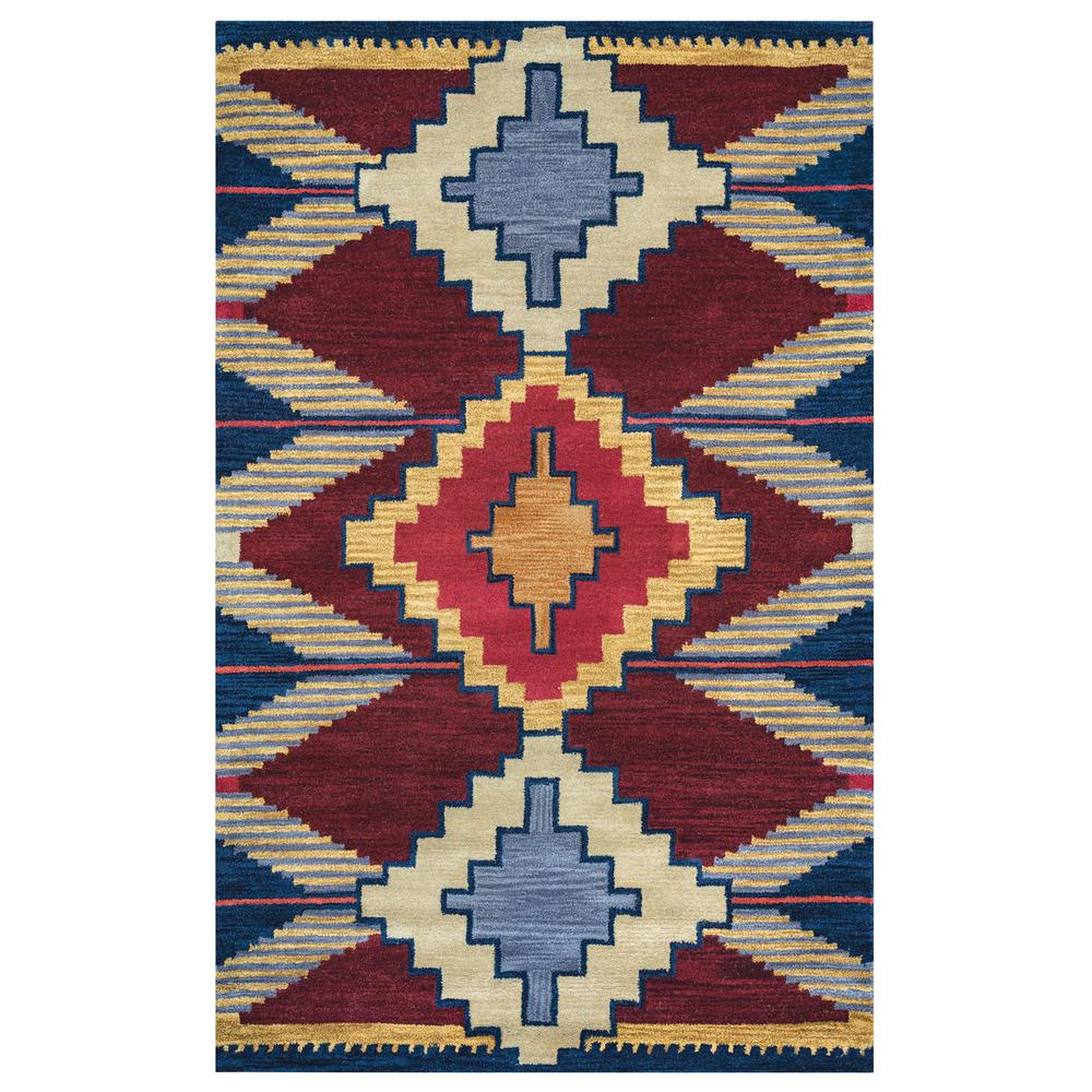 Rizzy Home Southwest Multicolor 8 Ft X Round Area Rug