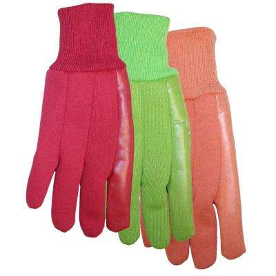 Ladies Polyurethane Coated Jersey N More Glove Pack of 3