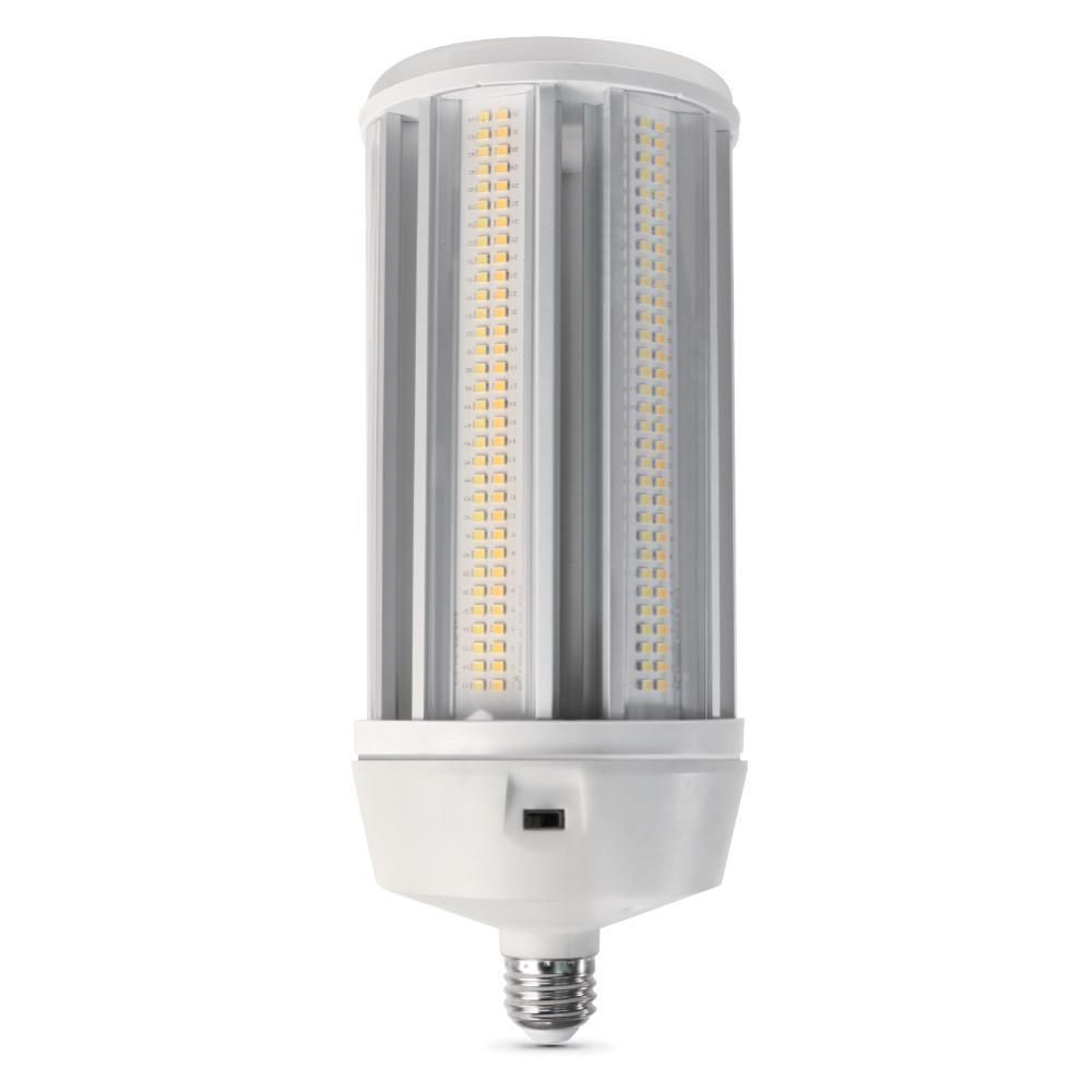 500-Watt Equivalent Corn Cob ColorChoice Soft White, Cool White, Daylight LED High Lumen Utility Light Bulb (12-Pack)