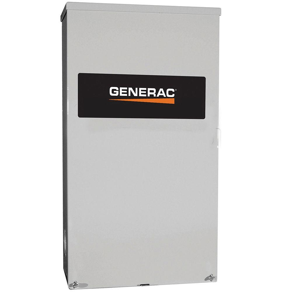 Generac 150 Amp Service Rated 120  240 Single Phase Nema 3r Smart Transfer Switch-rxsw150a3