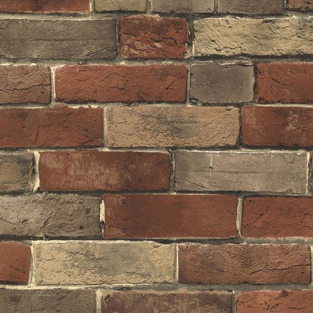 Norwall Photo Brick Wallpaper Bg21584 The Home Depot
